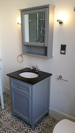 Installation by our bathroom fitters in Brixton, London