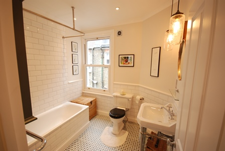 Bathroom enlargement and installation