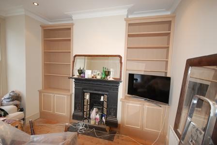 Fitted furniture - alcove cupboards