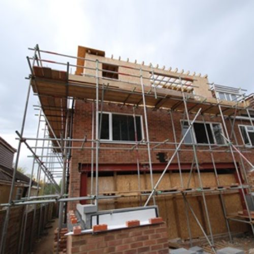 Sunbury extension - before